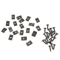 20x Motorcycle Fairing Bolts Kit Spire Speed Fastener Clips and Screws ATV