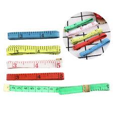 "5X Body Measuring Ruler Tailor Tape Measure Soft Flat 60"" /150cm Sewing UK"