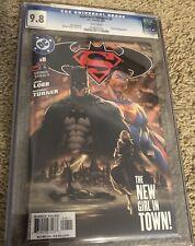 SUPERMAN BATMAN 8 - CGC 9.8 (DC Comics, 2004) Michael Turner Cover!