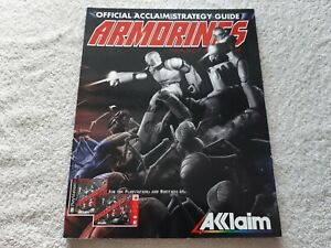 Armorines Game Guide Book N64 Mint Condition.