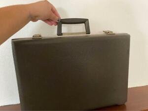 Vintage 1960s Airway Tufflight Model 40 Hardcase Briefcase Luggage Suitcase