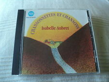 """RARE! CD """"CHANSONNETTES ET CHANSONS"""" Isabelle AUBRET / 13 titres enfants"""