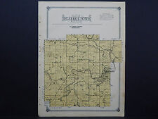 Minnesota, Fillmore County Map, 1915 #16 Township of Carrolton