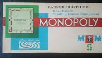 Vintage Monopoly Board Game 1961 Edition 100% Complete Parker Brothers