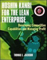 Hoshin Kanri for the Lean Enterprise by Thomas L. Jackson (author)