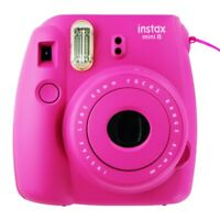 INCOMPLETE Fujifilm Instax Mini 8 Instant Film Camera - Hot Pink
