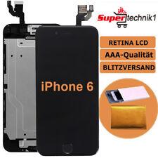 Für iPhone 6 Display Vormontiert mit Retina LCD Touchscreen Front Glas Schwarz