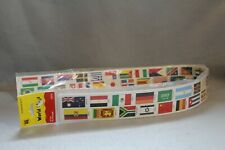 World Flags Trimmers That Teach 39 Feet Banner Classroom Education New Nip