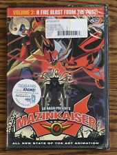Mazinkaiser Vol. 2: A Fire Blast from the Past (DVD, 2003) BRAND NEW DVD