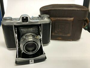 "FUJICA SIX Film Camera  6x6 7.5cm f3.5 with Case ""Excellent+++"" From JAPAN #35"