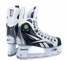 Reebok 8K PUMP White Ice Hockey Skates Size Junior, High Level Ice Skates