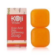 Pure Kojic Acid Skin Lightening Soap  2.82 oz / 2 Bars  - Naturally Whitening &