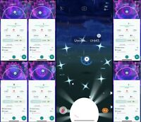 Pokemon Shiny Unown U or L or T or R or A - Mini account