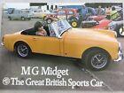 MG Midget UK Market Car Sales Brochure - 1972