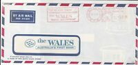 Australia 1971 Airmail Commercial Machine Cancel Stamps Cover ref R 18652