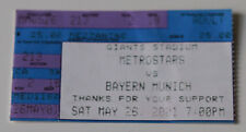 Ticket for collectors Metrostars NY - Bayern Munchen 2001 USA Germany