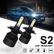 H7 Car LED Headlight 6500K 18W Light Bulbs 4000LM High Power Front Lamp