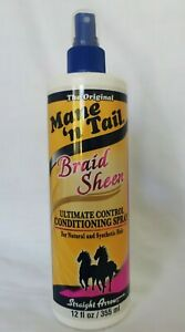 Mane 'n Tail Braid Sheen conditioning spray 12oz - AU Stock