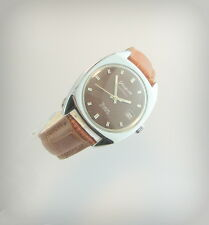 Rare  GLASHUTTE SPEZIMATIC BISON  26 Rubis..Incabloc..Date..70's..Germany.