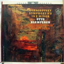 Otto Klemperer - Tchaikovsky No. 5 LP VG S 36141 Vinyl 1963 Record Blue Label