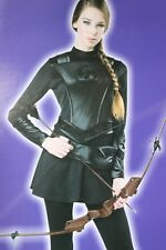 WOMENS LRG WARRIOR HUNTRESS HUNTER HALLOWEEN COSTUME HUNGER GAMES KATNISS