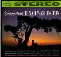 Dinah Washington Vinyl LP Mercury Records, 1961, SR-60232, Unforgettable ~ VG
