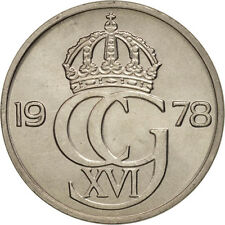 [#98320] Sweden, Carl XVI Gustaf, 50 Öre, 1978, Copper-nickel, KM:855