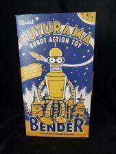 Official Futurama Bender Robot Action Toy
