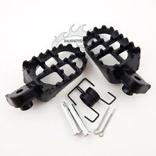Aluminium Footrest Footpegs For Xr50R Crf50 70 80 100F Dirt Pit Bike Motorcycle