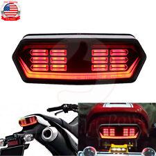 Tail Light Flowing Run LED Turn Signal Brake For Honda Grom125 CBR650F CTX700N