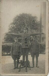 WW1 soldier military Comic Short Tall with bandy bulldog ASC Army Service Corps
