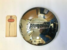 1937-1938 Plymouth Hubcap! Beautiful Reproduction!