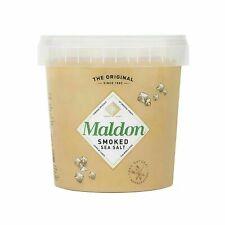Maldon Smoked Sea Salt, 1.1lb (500g) Tub