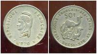 AFARS et ISSAS  50 francs  1970