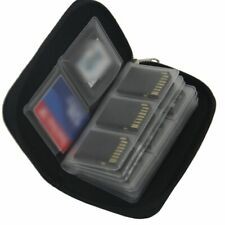 Memory Card Storage Carrying Case Holder Wallet 18slots + 4 slots For CF/SD/SDHC
