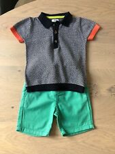 Mamas and Papas Baby Boys Short and Knitted Top Outfit BNWOT 6-9 months