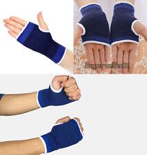 2PCS Wrist Hand Support Protect Glove Elastic Brace Sleeve Sport Bandage Perfect