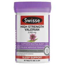 3 x  Swisse Ultiboost High Strength Valerian 60 Tablets (180 tablets in total)