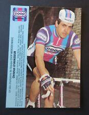 Carte CHRISTIAN LEVAVASSEUR COOP cycliste cyclisme vélo bike Fahrrad