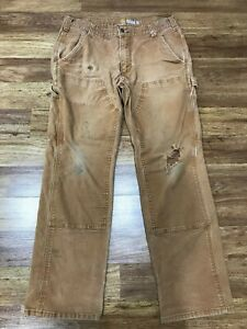 MENS 34 x 30 - Carhartt 103334 Rugged Relaxed Fit Pants