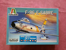 Maquette Italeri 1/48 AVION F-86 E SABRE DECALQUES POUR 6 VERSIONS
