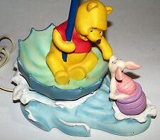 Nice! Winnie the Pooh Piglet Umbrella Table Lamp Nursery Child's Hampton Bay