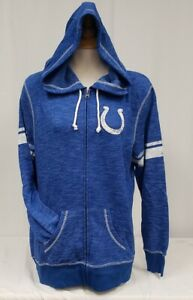 Brand New Majestic Women's NFL Indianapolis Colts Full-Zip Sweater