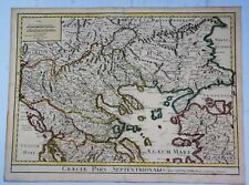 H-C Map of Northern Greece - GRAECIAE PARS SEPTENTRIONALIS by Delisle in 1715