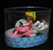 "Super Mario Bros Princess Pull Back Racer Car figure car about 5"" long"