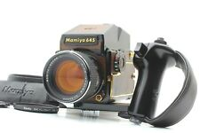 【TOP MINT】 Mamiya M645 1000S Gold Lizard Limited Prism AE  80 f/1.9 From JAPAN