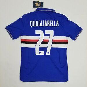 2019 2020 Sampdoria Home Shirt JOMA football soccer jersey SMALL Quagliarella