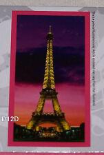 Cities Of The World Paris Printed Cotton Velour Beach Towel 75cm x 150cm New