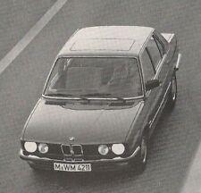 LIBRETTO USO MANUT. BMW 518i 520i 525e  M 528i 535i 524