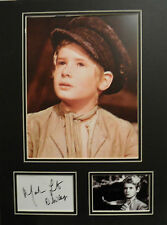 MARK LESTER Signed 16x12 Photo Display OLIVER COA